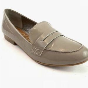 SAM EDELMAN ETIENE TAUPE FLATS LOAFERS SHOES